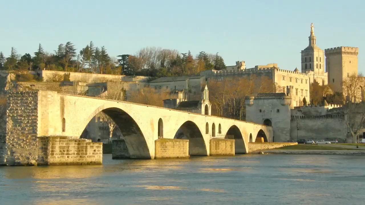 Visit the Avignon Bridge in France