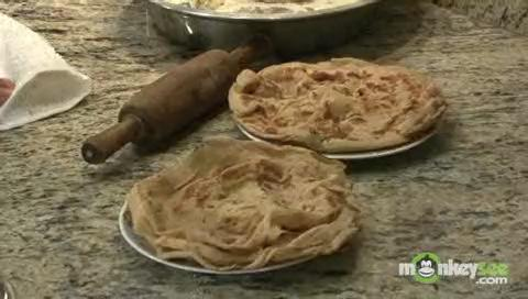 Roasting and Presenting the Paratha