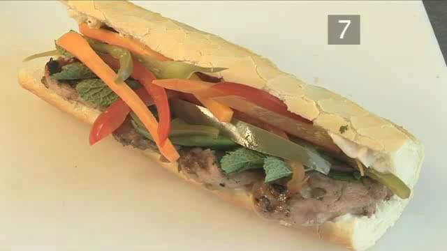 How to Prepare Barbecued Asian Pork Sandwich