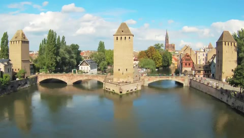 Visit the Strasbourg Guard Towers in France