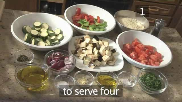 How to Prepare Summer Vegetable Crumble