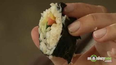 How to Make Vegetable Sushi for Kids