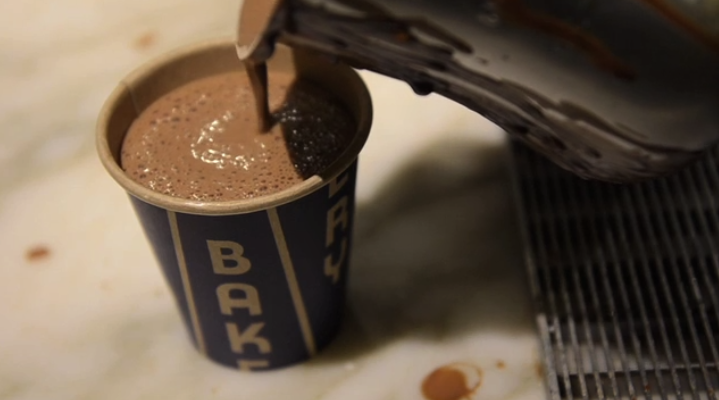 New York City's Best Hot Chocolate in City Bakery, Manhattan
