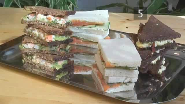 How to Do Tea Sandwiches at Home