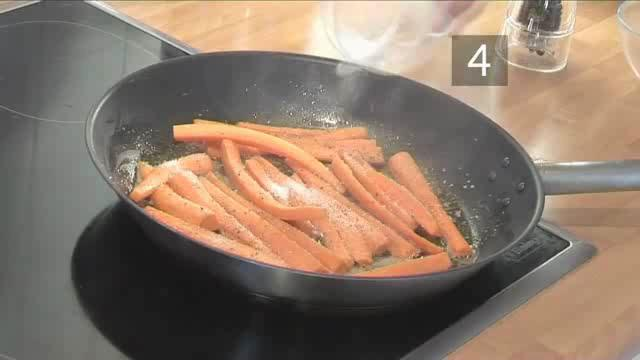How to Fry Glazed Carrots