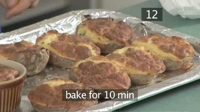 How to Bake Souffle Potatoes