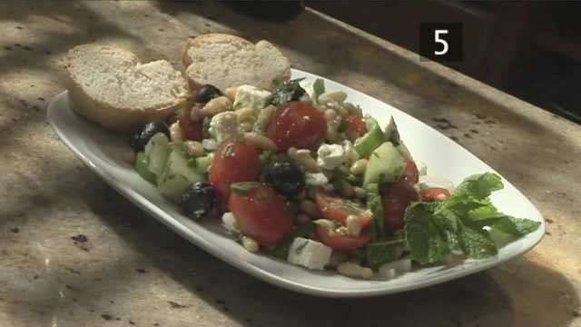 How to Prepare Greek Country Bean Salad