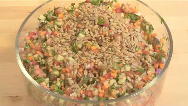 How to Prepare Mediterranean Chopped Salad