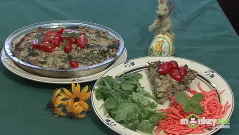 Easter Peter Rabbit Pie (Greens and Quinoa Pie)
