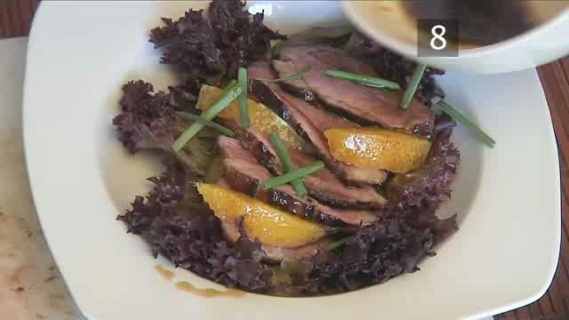 How to Cook Honey-Roasted Duck Breast Salad