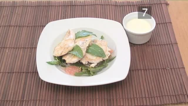 How to Cook Chicken Salad with Grapefruit