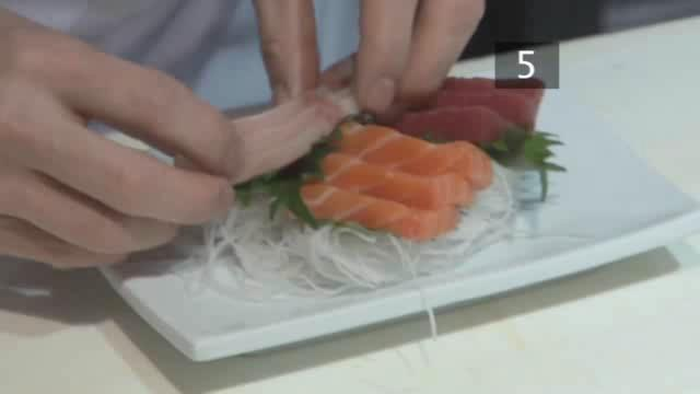 How to Make a Tasty Sashimi - Salmon, Tuna and Yellowtail
