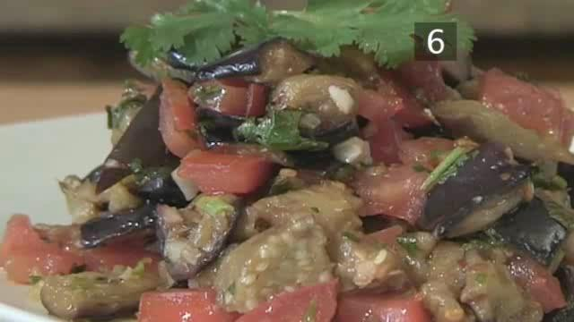 How to Prepare Spicy Aubergine Salad