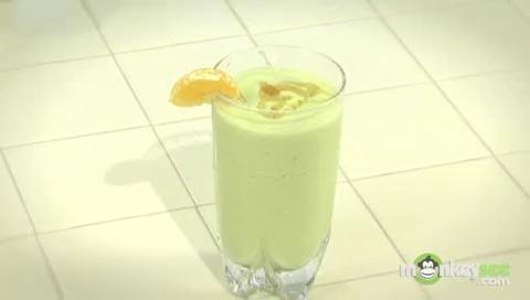 Moroccan Citrus Avocado Smoothie