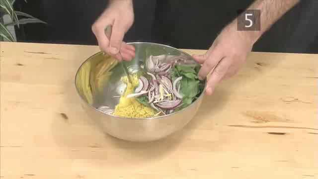 How to Prepare Indian Spiced Rice Salad