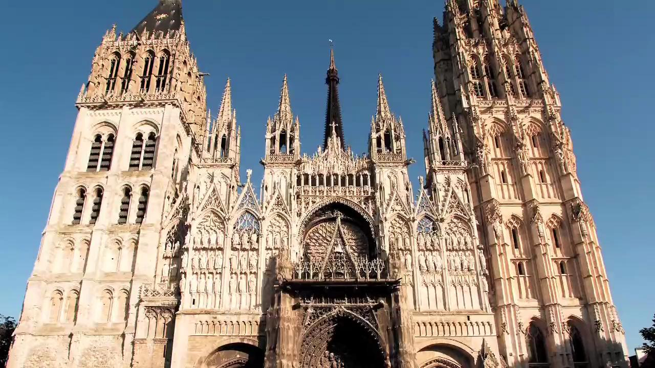 Visit Rouen Cathedral in France