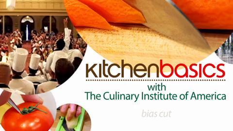 Kitchen Basics - How to Do the Bias Cut