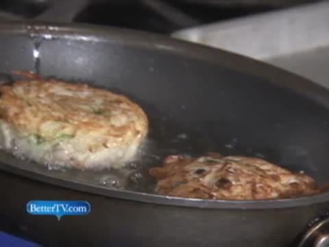 Potato Latkes with a Twist