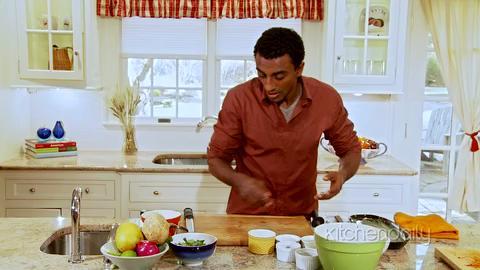 Marcus Samuelsson's Salmon Jicama Salad Recipe