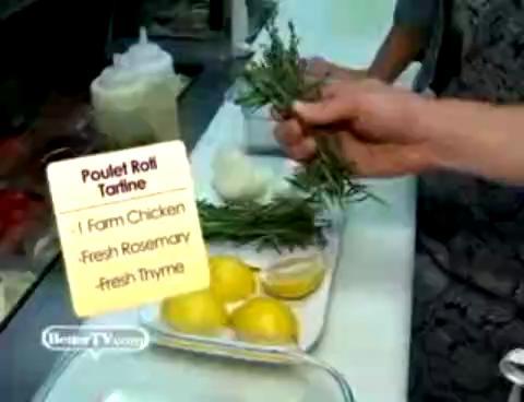 Roasted Chicken Tartin Recipe