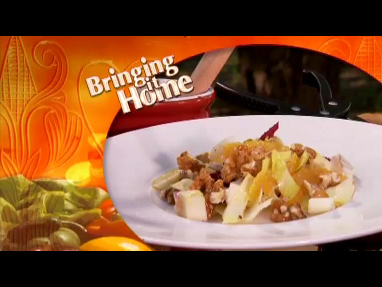 How to Make a Endive and Caramelized Walnuts Salad