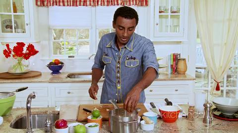 How to Make Lentil Coconut Soup with Lentil Apple Salad
