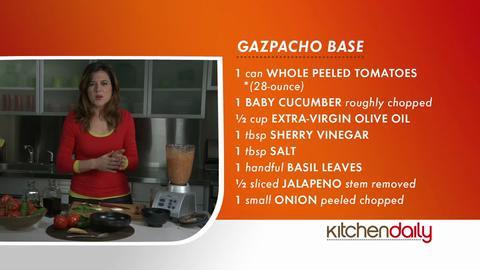 Shake it Up - Gazpacho Recipe