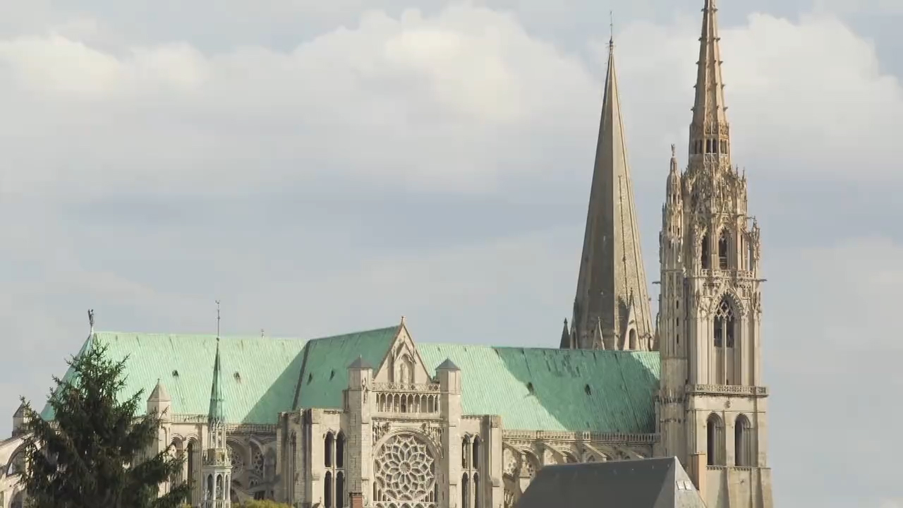 Visit the Chartres Cathedral in France