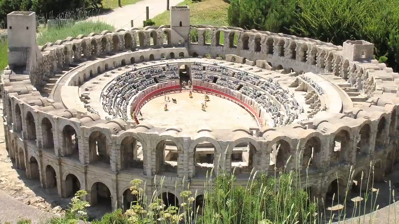 Visit the Arles Amphitheatre in France
