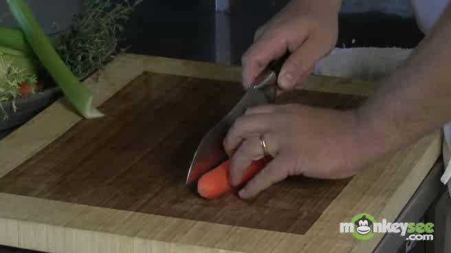 How to Use a Kitchen Knife - Dice a Carrot