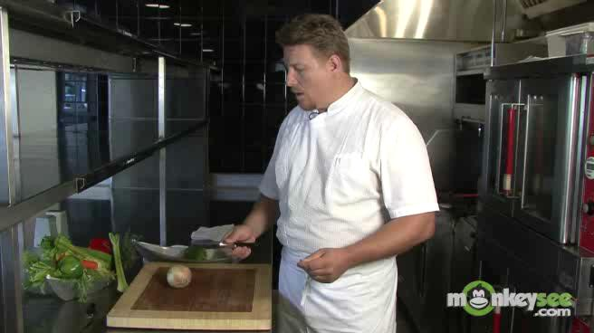 How to Use a Kitchen Knife - Chop an Onion