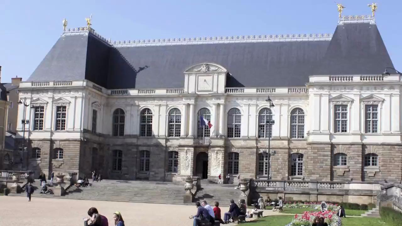 Visit the Brittany Parliament Building in Rennes, France