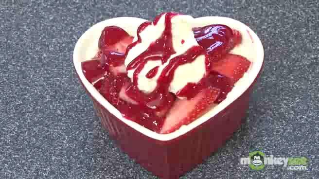 Strawberry Whipped Cream Dessert Recipe