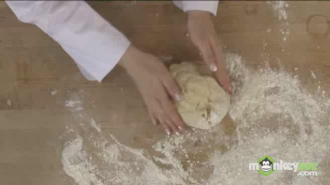 Baking Sesame Chapati Bread