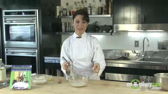 Make Sesame Chapati Bread Dough