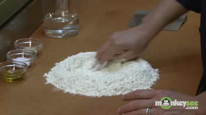 Homemade Pizza Recipe - How to Make Dough by Hand Part 1