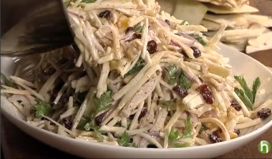 Turkey Salad with Celery Root and Apple