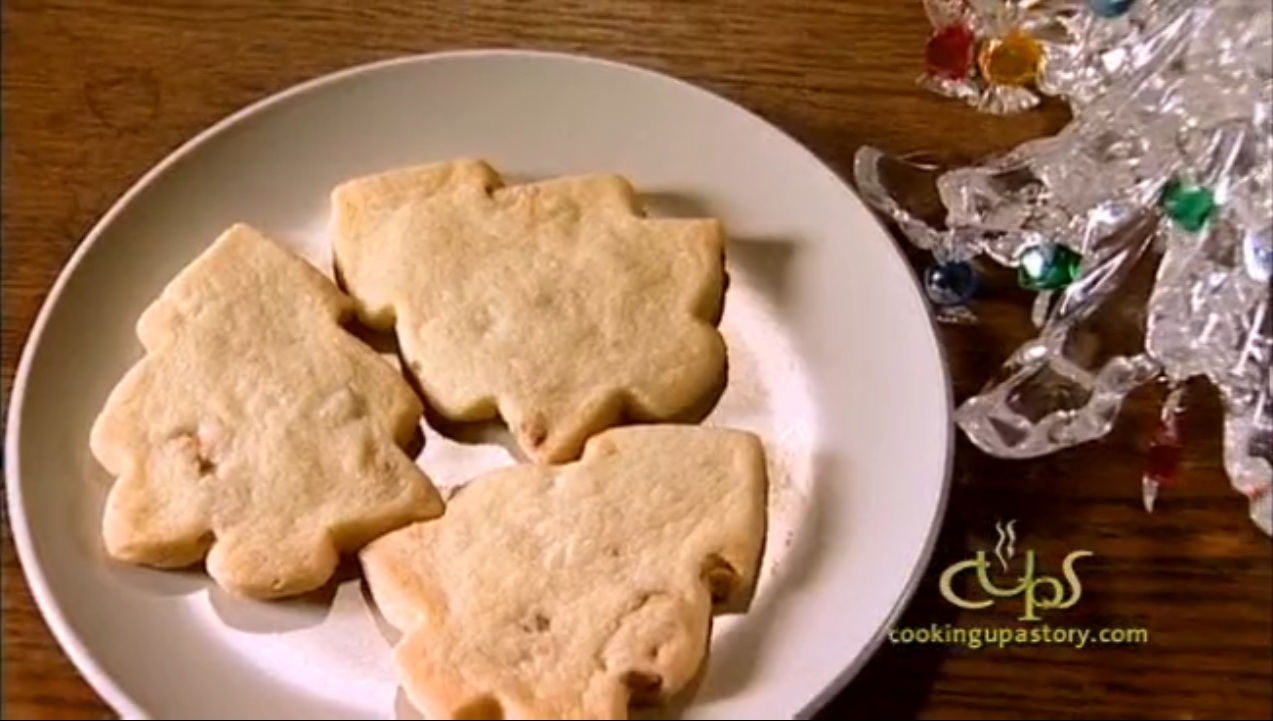 How to Make Cashew Shortbread Cut-Out Cookies