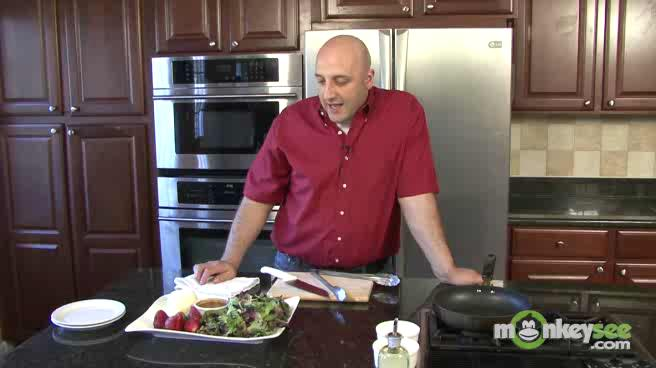 Learn how to Make Goat Cheese and Strawberries Salad for a Romantic Dinner