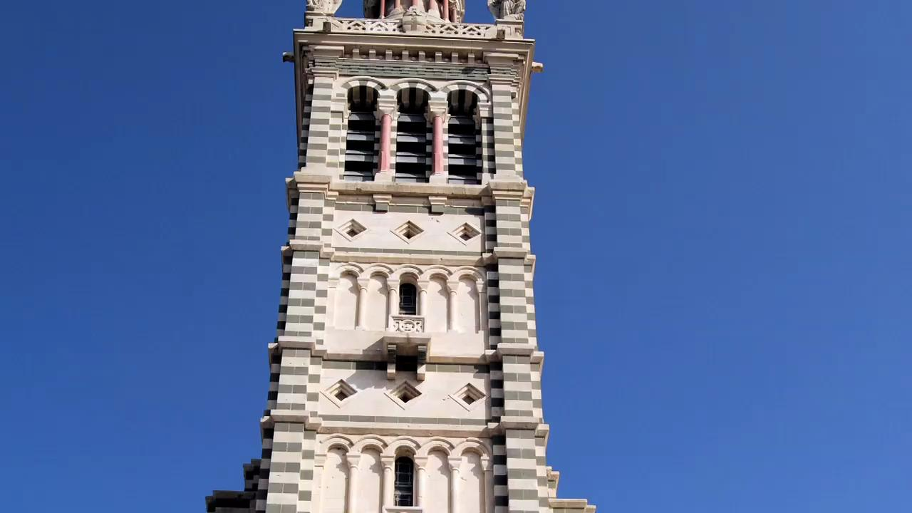 Visit the Notre Dame de la Garde in Marseille, France
