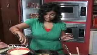 Aarti Sequeria's Indian Style Shrimp and Pineapple Po' Boy Recipe
