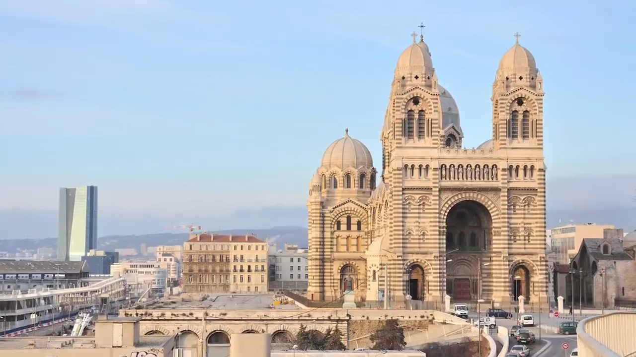 Visit the Marseille Cathedral in France
