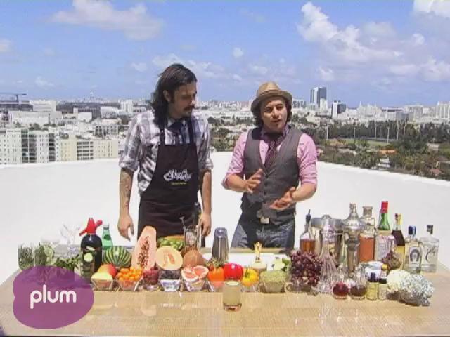 Classic Margarita and Red Pepper Margarita