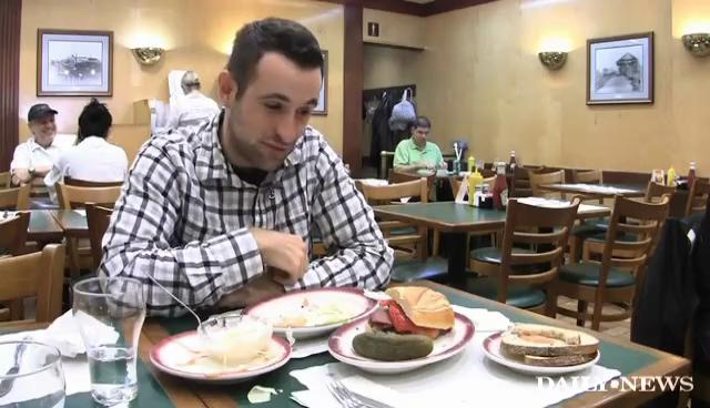 Food Challenge at Ben's Best Kosher Deli