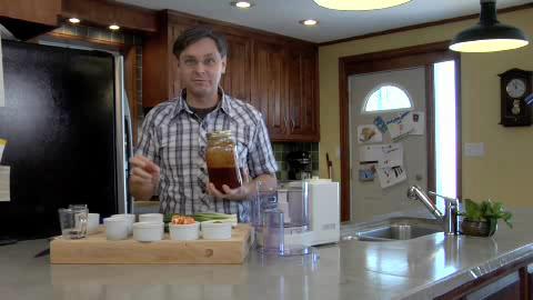 Making Jerk Sauce Part 1