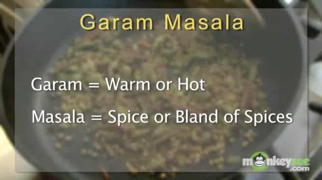 How to Cook Garam Masala