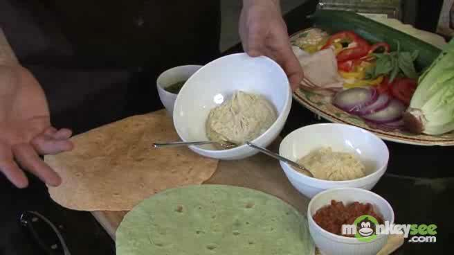 How to Put Together 2 Lunch Wraps