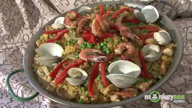 How to Prepare the Seafood for Paella, Part 2
