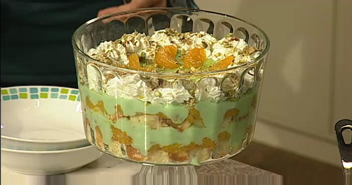Pistachio Orange Trifle Recipe