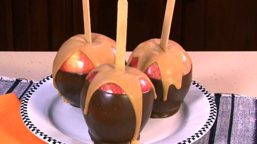 Peanut Butter Dipped Apples